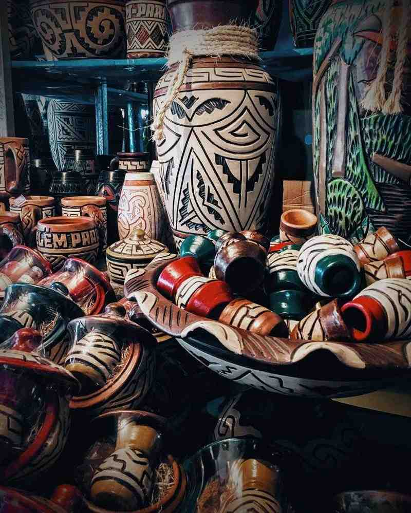 Tipos de artesanato nos estados da região Norte