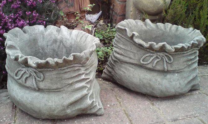 artesanato com cimento para jardim