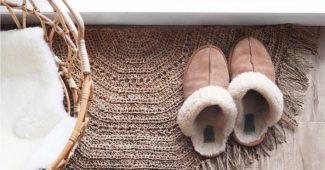 modelos de tapetes de croche para entrada da sala