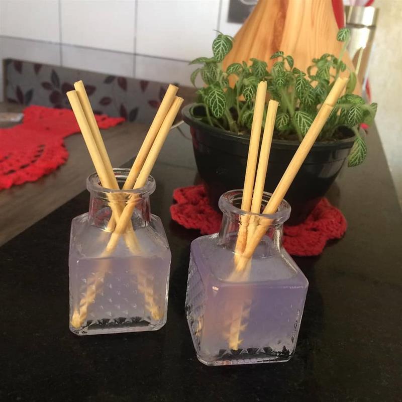misturinha para deixar o ambiente cheiroso