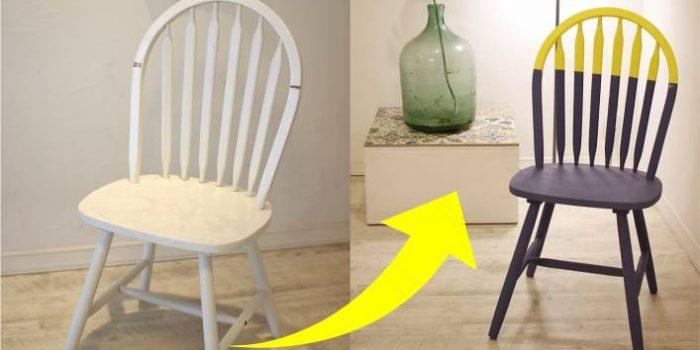 reforma de cadeiras antes e depois